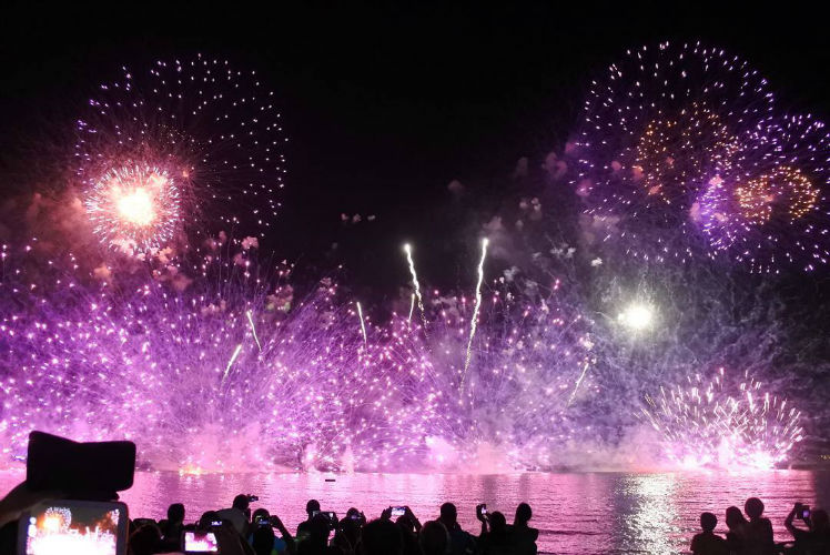 Pattaya International Fireworks Festival 2017 (CANCELLED)